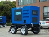 400A静音发电电焊机含移动拖车