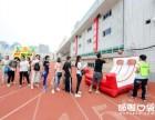 北京哆啦口袋充气投篮丨激光打气球丨炮击灰太狼丨趣味气模道具