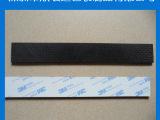 现货销售 3MM黑色网格橡胶脚垫 护线套橡胶 缓冲垫橡胶 量大更