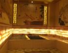 承建装修温泉洗浴 美容院盐房韩式纳米汗蒸房+室内亭子