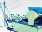 工大蓝舰热干面机折皮机挂面压面面条机工厂化食品设备