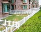 四川别墅护院塑钢围墙围栏 成本低 美观大方