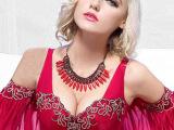 新款品牌文胸玛奇朵性感刺绣上托侧收副乳调整型聚拢内衣工厂直销