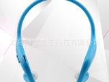 BOAS蓝牙耳机 4.0立体声 迷你双耳通用型运动防水 挂耳式无