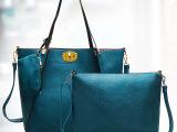 欧美大牌单肩包新款时尚简约十字扣女包包手挽个性百搭女士大包