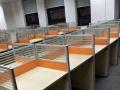 龙华低价出售老板桌文件柜沙发茶几卡位屏风办公椅