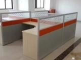 合肥T字型垂直隔断桌,新铝合金边框宽隔断办公桌