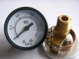 气源压力表 Y40压力表(铜接头)
