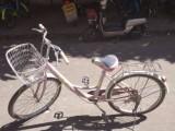 东莞桥头个人出售粉红色自行车代步车一辆