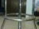 金属指示牌(架)金属展示架 立式展架(图)