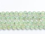 林华水晶 天然葡萄石圆珠 散珠 手链串珠 东海天然水晶半成品批发