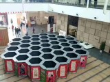 西安大型蜂巢迷宫闯关尺寸定做 源头厂家互动暖场