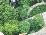 上海沙发红木家具吊装上楼