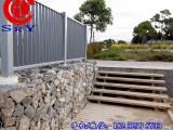 内蒙抗汛格宾石笼推荐你河道治理工程使用-防洪格宾网笼挡墙