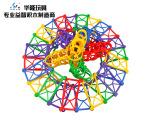 华隆神奇编织花篮 益智积木 DIY塑料玩具 桌面游戏玩具 儿童积