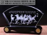 项目竣工纪念礼品 隧道工程公司周年纪念 苏州水晶内雕厂家