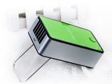 迷你掌上空调 锂电池USB创意加湿降温3到4度学生电风扇 厂家直