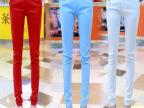 秋装新款 休闲裤白色长裤子韩版修身显瘦铅笔小脚裤