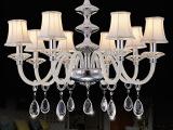 爱啡尔灯饰  新款客厅吊灯欧式水晶吊灯卧室餐厅书房灯饰灯具