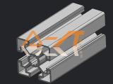 铝型材系列报价,大量供应优惠的45系列铝型材