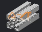 常州提供上等45系列铝型材-4545W铝型材