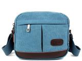 2014斜挎包帆布女 韩版学生 男大包包 休闲背包旅行包 手提包