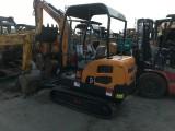 出售二手小型挖机 二手玉柴15,20挖机
