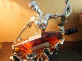 欧式简约美人舞蹈红酒架酒柜装饰品 西餐厅KTV酒吧家居摆件工艺品