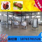 鸭血豆腐生产线 血豆腐设备工艺流程