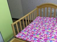 实木婴儿床 母婴店购买金贝尔品牌童床