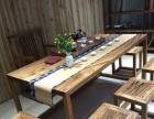 乌金木实木大板家具办公桌会议桌书桌餐桌写字台老板桌