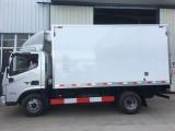 长沙市福田牌4.2米冷藏车海鲜冷藏车的配置及价格