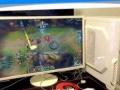 妹子转让自用酷睿i5四核28寸液晶游戏高配台式电脑