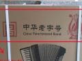 全新天津鹦鹉手风琴120贝斯三排黄