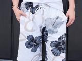 新款沙滩裤男士速干沙滩裤 欧美爆款男士休闲五分短裤