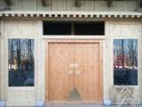 老榆木进户门 定做茶楼老式门 纯实木庭院大门