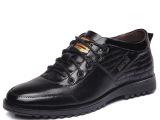 厂家直销 冬季牛皮休闲男鞋 潮流真皮内增高鞋 男士休闲皮鞋批发