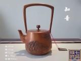 定制铜壶铸造铜壶铜壶加工工艺铁壶银壶茶艺壶茶道壶
