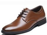 正品牛皮男鞋新款真皮男士商务皮鞋男正装皮鞋透气休闲皮鞋