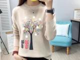 武汉高质量童装女装秋装批发货到付款秋冬季新款毛衣批发