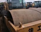转让 二手徐工20吨22吨26吨单钢轮震动压路机