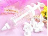 奶油挤花器 蛋糕裱花器 翻糖蛋糕裱花工具套装 8嘴 蛋糕曲奇饼干