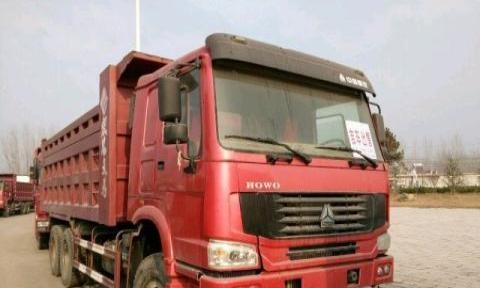 福田欧曼 2012年上牌 出售欧曼后八轮自卸车 车况好