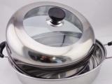 厂家直销汤蒸两用锅 多用锅 供应不锈钢汤蒸锅、汤蒸二用锅