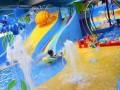 室内儿童水上乐园组合滑梯设备有哪些妙处