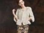 新款皇冠级女款水貂整貂裘皮大衣 高贵珍珠色短款皮草外套