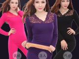 品质保证 超柔V领加绒加厚女士无缝美体保暖内衣WN208