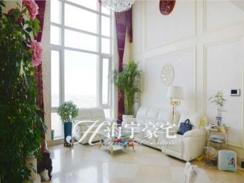 朝阳公园棕榈泉复式五居+家电家具齐全+客厅挑高落地窗+高45棕榈泉国际公寓
