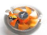 电脑CPU风扇散热器 宇拓大黄蜂 带LED灯 支持1155 77