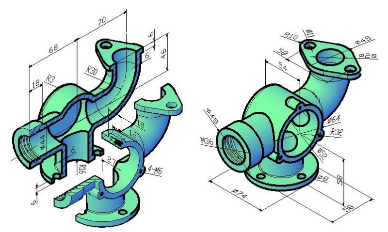 襄阳专业制作机械三维UG工程图纸 CAD二维图设计